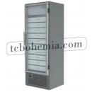 SCHA 401 INOX - Lékárenská vitrínová lednice se zásuvkami
