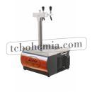 KONTAKT 55/K Profi Double coiled dry beer cooler with built in air compressor