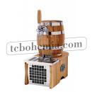 SOUDEK 1/8 HP Barrel-like single coiled beer cooler