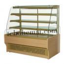 WCHCN - Cukrárenská vitrína s dřevěným obložením