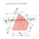 LCC Carina 02 INT45 - Vnitřní rohový prvek (45°)
