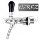 Beer tap - stainless steel 35 mm