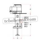 Motorový vířič s pumpou MID-7
