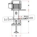 Motorový vířič s pumpou STB 12