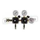 Redukční ventil na dusík dvojvývodový 0-10/6 bar