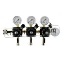 Three Product Nitrogen Beer Regulator 0-10/6 bar.