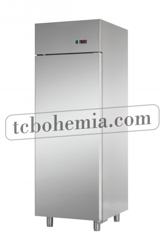 AF07EKOMTN   Nerezová lednice s plnými dveřmi