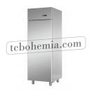 AF07EKOMTN - Nerezová lednice s plnými dveřmi