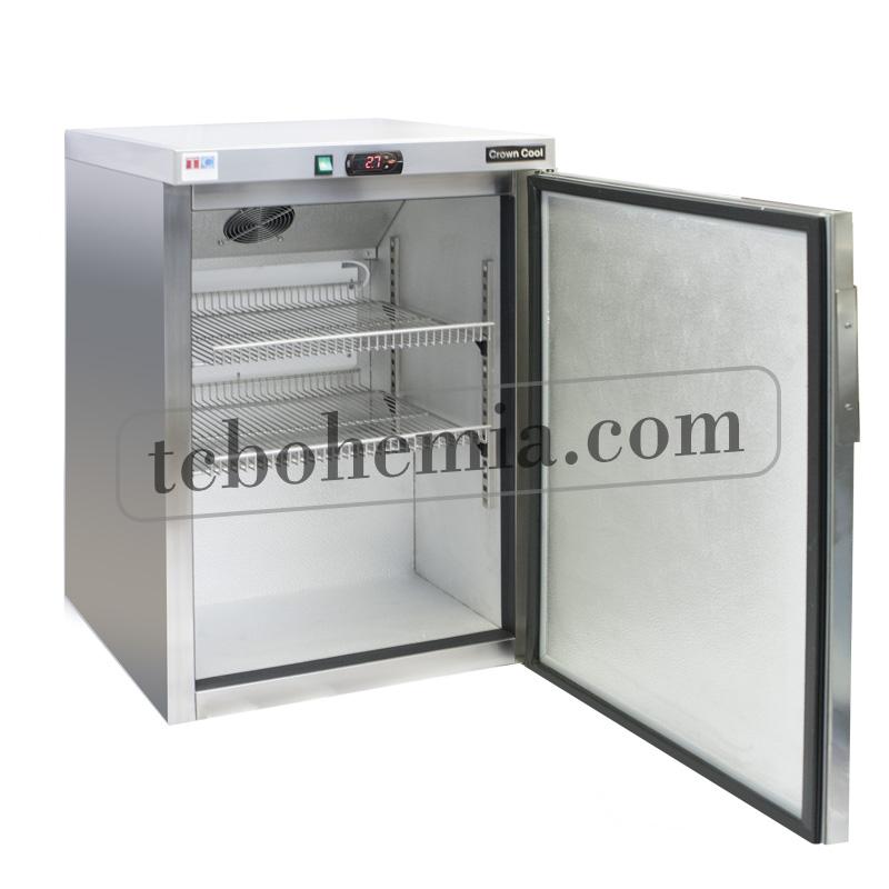 J-160 RM | Nerezová lednice s plnými dveřmi