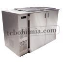 Chladič odpadu pro dvě nádoby